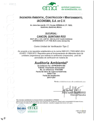 Sucursal Cancún UV Auditoria Ambiental